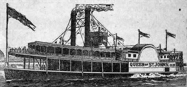 The Steamer Queen of St. Johns