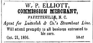 Fayetteville Observer - 9 Feb., 1857
