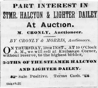Halcyon Part Interest Advertisement
