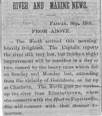 Wilmington Star - September 11, 1869
