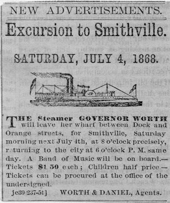 July 4th Excursion to Smithville
