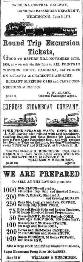 Wilmington Morning Star - July 4, 1878