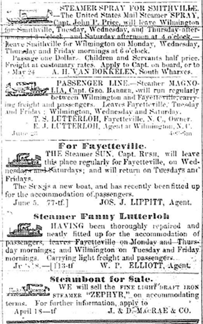 Steamer SPRAY - Assorted Steamer Ads WDH07141855