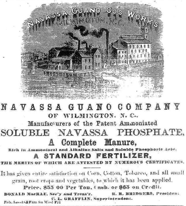 Navassa Guano Advertisement