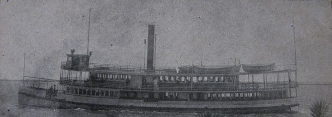 Steamer Wilmington in profile