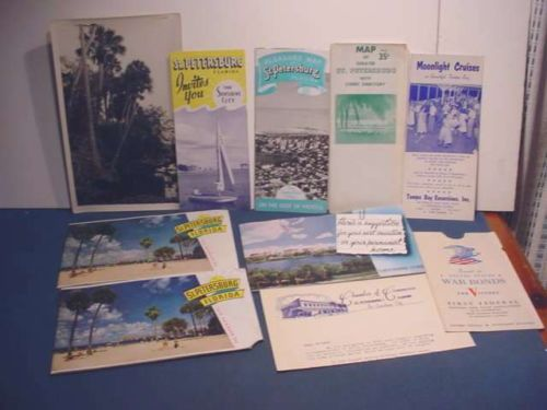 florida-vacation-pamplet-collection